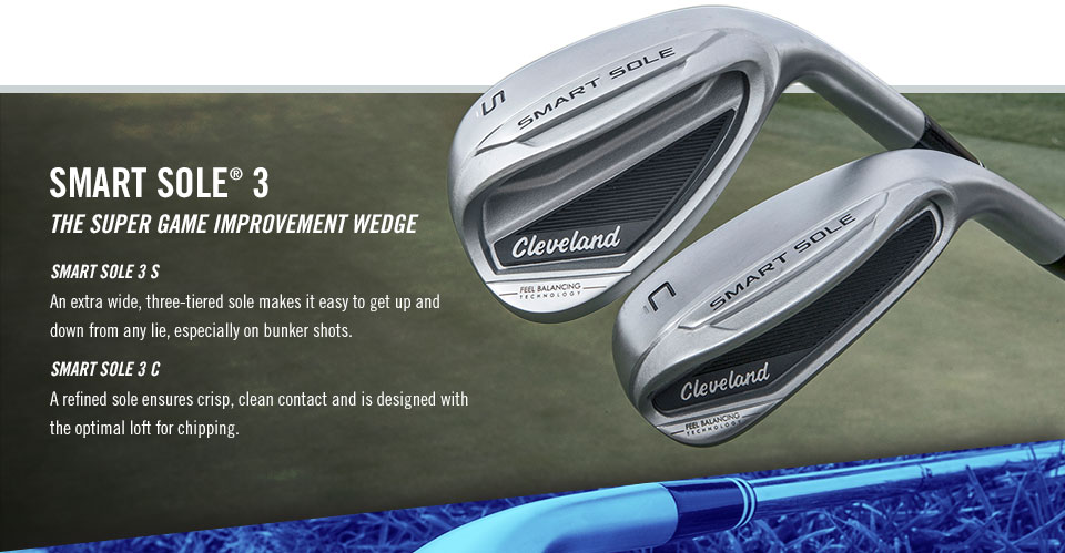 Smart Sole 3, The Super Game Improvement Wedge