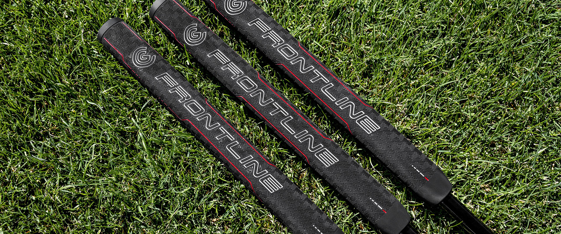 Cleveland Golf Frontline Putters Grips Grass