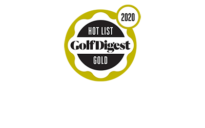 Gold Medal Winner of Golf Digest's Hot List