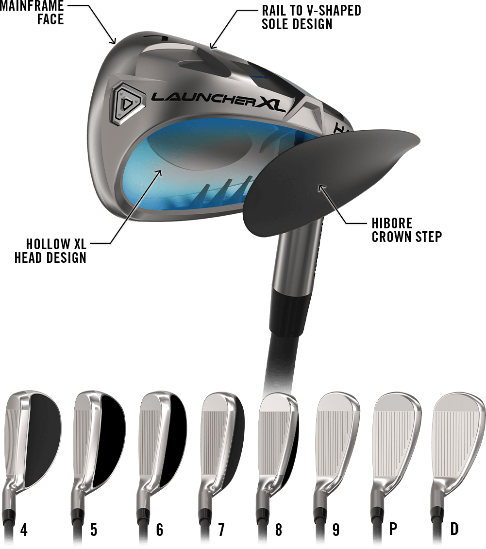 Launcher XL HALO Irons Info