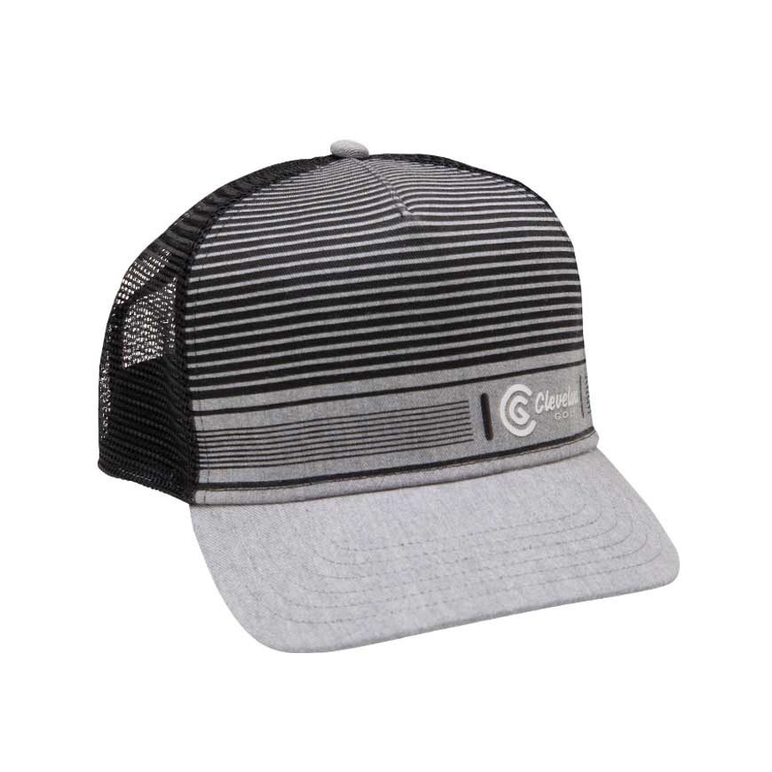 LIFESTYLE TRUCKER CAP,Black