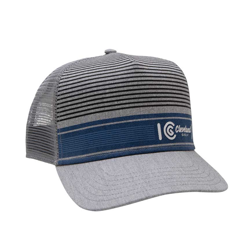LIFESTYLE TRUCKER CAP,Grey