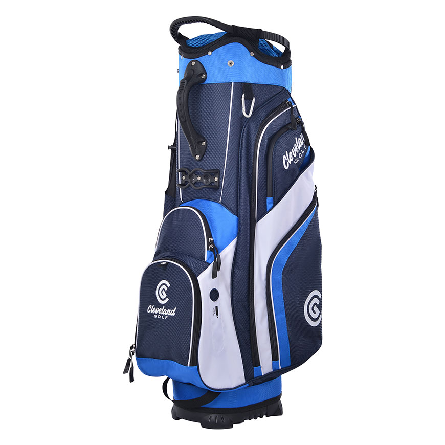 CG CART BAG,Navy/Royal/White