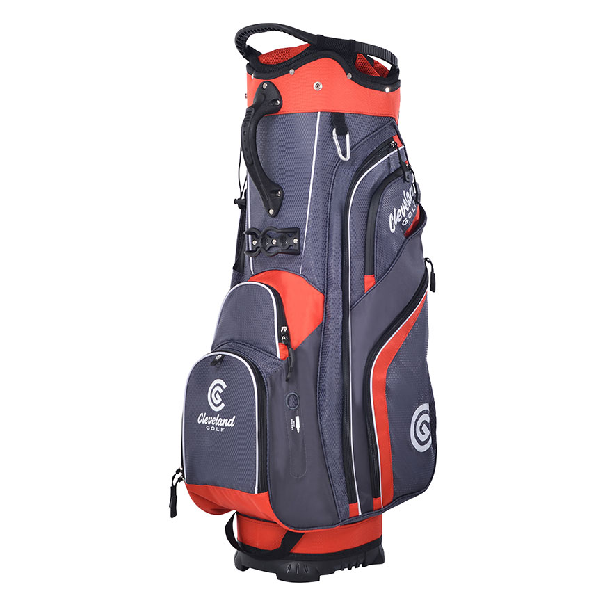 CG CART BAG,Charcoal/Red