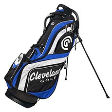 STAND BAG,Black/Blue/White